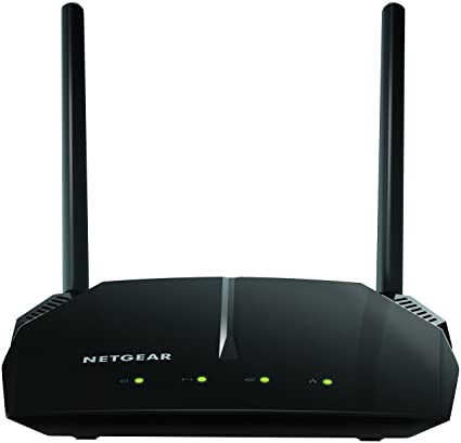 NETGEAR WiFi Router (R6120) - AC1200 Dual Band Wireless Speed (up to 1200  Mbps) | Up to 1200 sq ft Coverage & 20 Devices | 4 x 10/100 Fast Ethernet