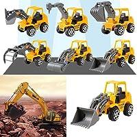 Nisels 6pcs camion veicolo di costruzione spinta ingegneria giocattolo auto bambini giocattoli per bambini