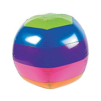 Amazon.com: Arco Iris pelota de playa – enorme gigante 32 ...