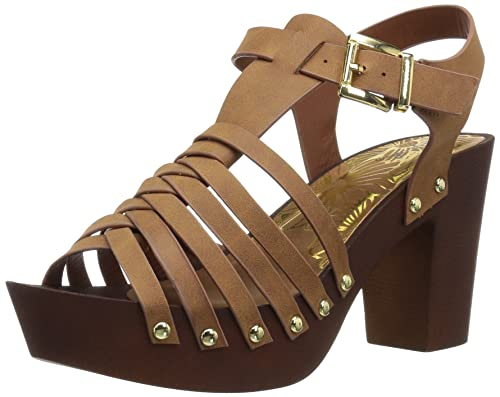 b6c840330cc9 Image Unavailable. Image not available for. Color  Qupid Women s Wood Heel  Sandal ...