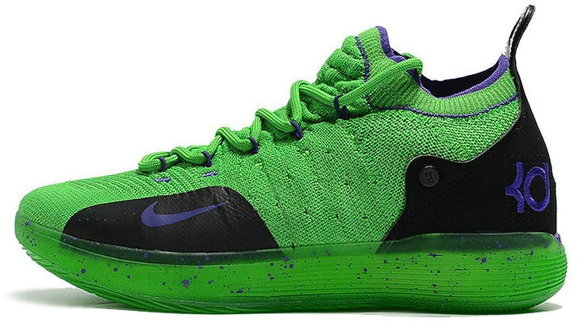 Kevin Durant KD 11 Zoom Green Zapatos de Baloncesto para Hombre ...