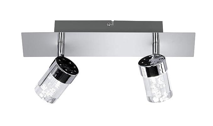 Wofi Parker 7806.02.01.0000 - Lámpara de techo (LED, 10 W ...