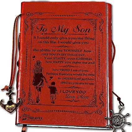 Regalo para mamá a hijo - diario de escritura, diario ...