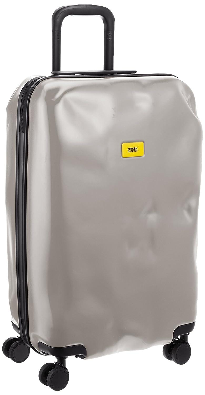 [クラッシュバゲッジ] CRASH BAGGAGE 取扱い注意不要スーツケースPIONEER 無料預入れ受託ミディアムサイズTSAロック搭載 B013JL4Z66 ライトグレー ライトグレー