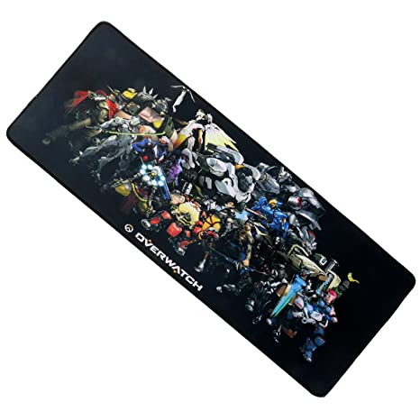 CHC Overwatch Gaming Mouse Pad-Stitched Edges Extended Fast Mouse Pad 31.5Lx11.8Wx0.12H(107)