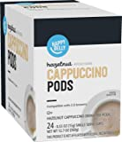 Amazon Brand - Happy Belly Cappuccino Coffee Pods Compatible with 2.0 K-Cup Brewers, Hazelnut Flavored , 24 Count