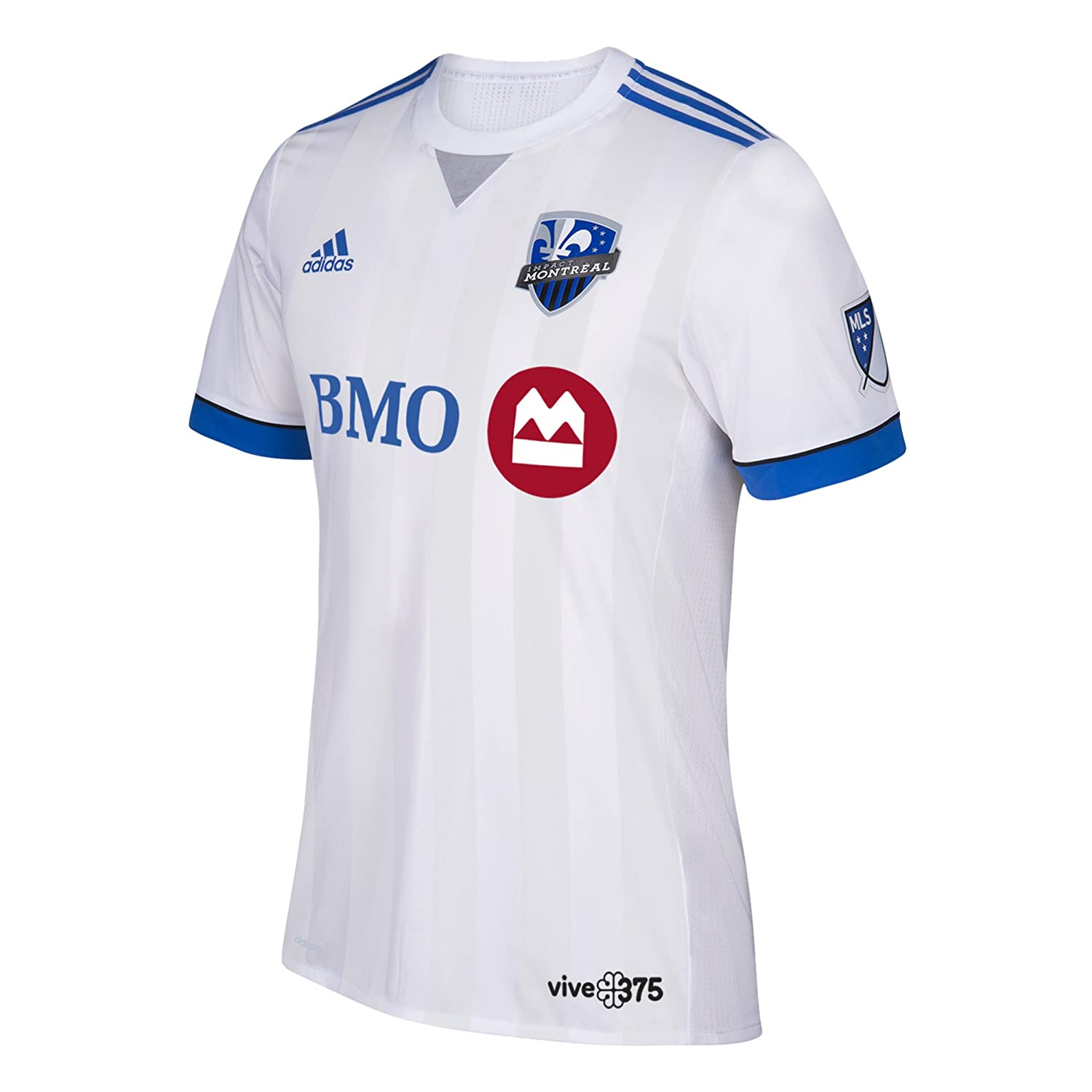 separation shoes 88dfd 69e18 adidas Men's MLS Montreal Impact Authentic Away Jersey ...