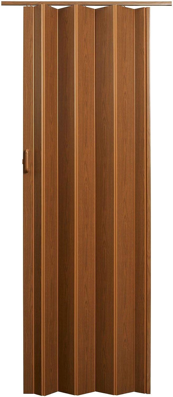 LTL Home Products EN3280FL Encore Interior Accordion Folding Door Renewed Fruitwood 24-36 x 80 Inches