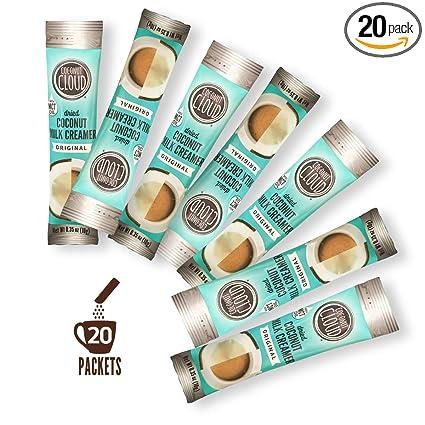 Coconut Cloud Vegan Coffee Creamer Stick Packs (no lácteos ...