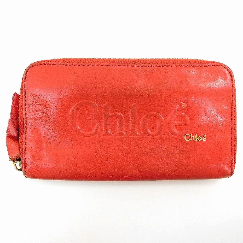 [クロエ] Chloe 長財布 レザー X9156 中古 B01BHGY7K4