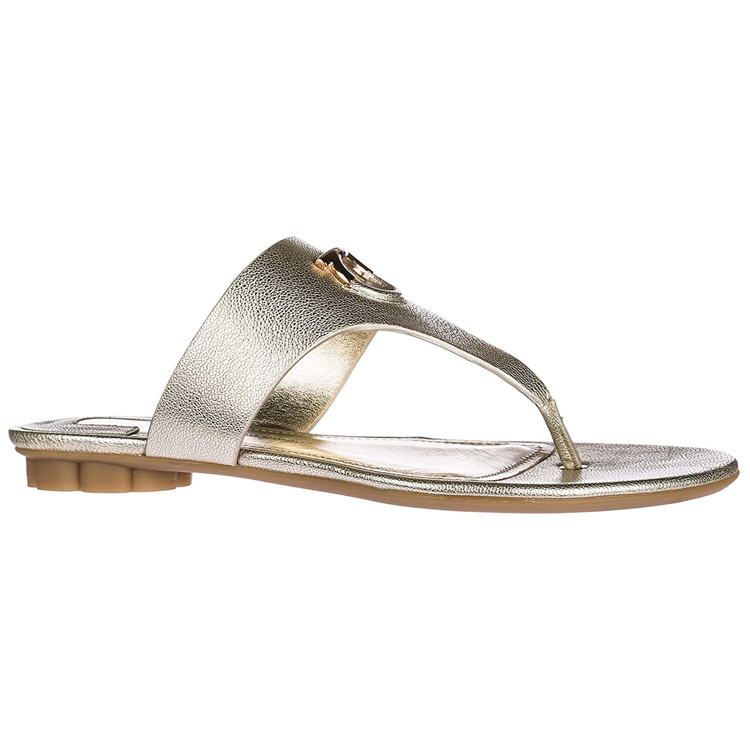 8135afbcf Salvatore Ferragamo Women Enfola flip Flops oro  Amazon.co.uk  Shoes   Bags