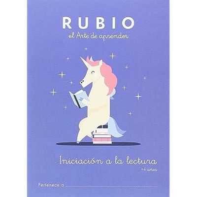 Iniciación a la lectura RUBIO +4: INICIACIÓN A LA LECTURA: 1