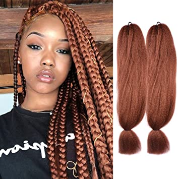 Amazon Com Jumbo Braiding Hair Extension Synthetic 57g 48inch Kanekalon Fiber For Twist Braiding Hair 2pcs 57g 30 By Leticia Beauty