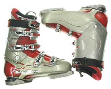 Amazon Com Used Ski Boots >> Used Salomon Mission Rs 880 Ski Boots Men S Size 8 5 Red