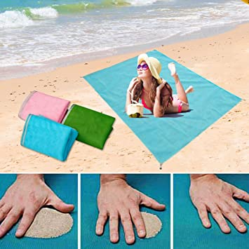 Camping & Hiking 200 X 200cm Beach Mat Sand Free Magic Mat Beach Sandless Foldable Outdoor Waterproof Blanket Camping Picnic Folding Mat