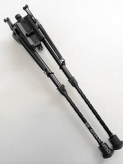 "9-13/""  Style Bipod Adjustable Heavy Duty 50 Degree Tilt pivot/&Rail Adapter"