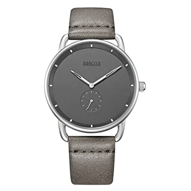 Unisex Fashion Analog Quartz Simple Slim Watches On Sale With Leather Strap For Young by Baogela