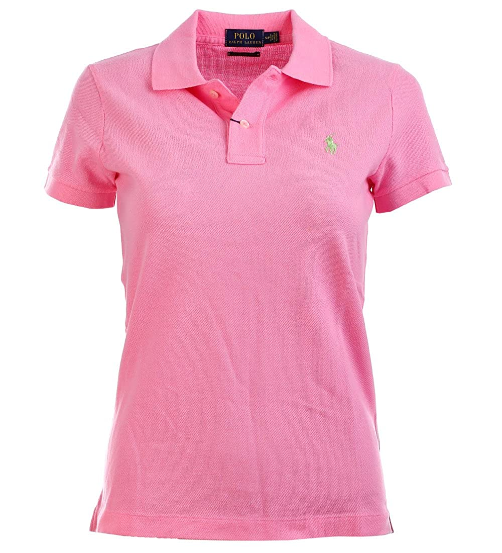 5fa52480a Amazon.com  Polo Ralph Lauren Womens Skinny Fit Mesh Polo Shirt (S ...