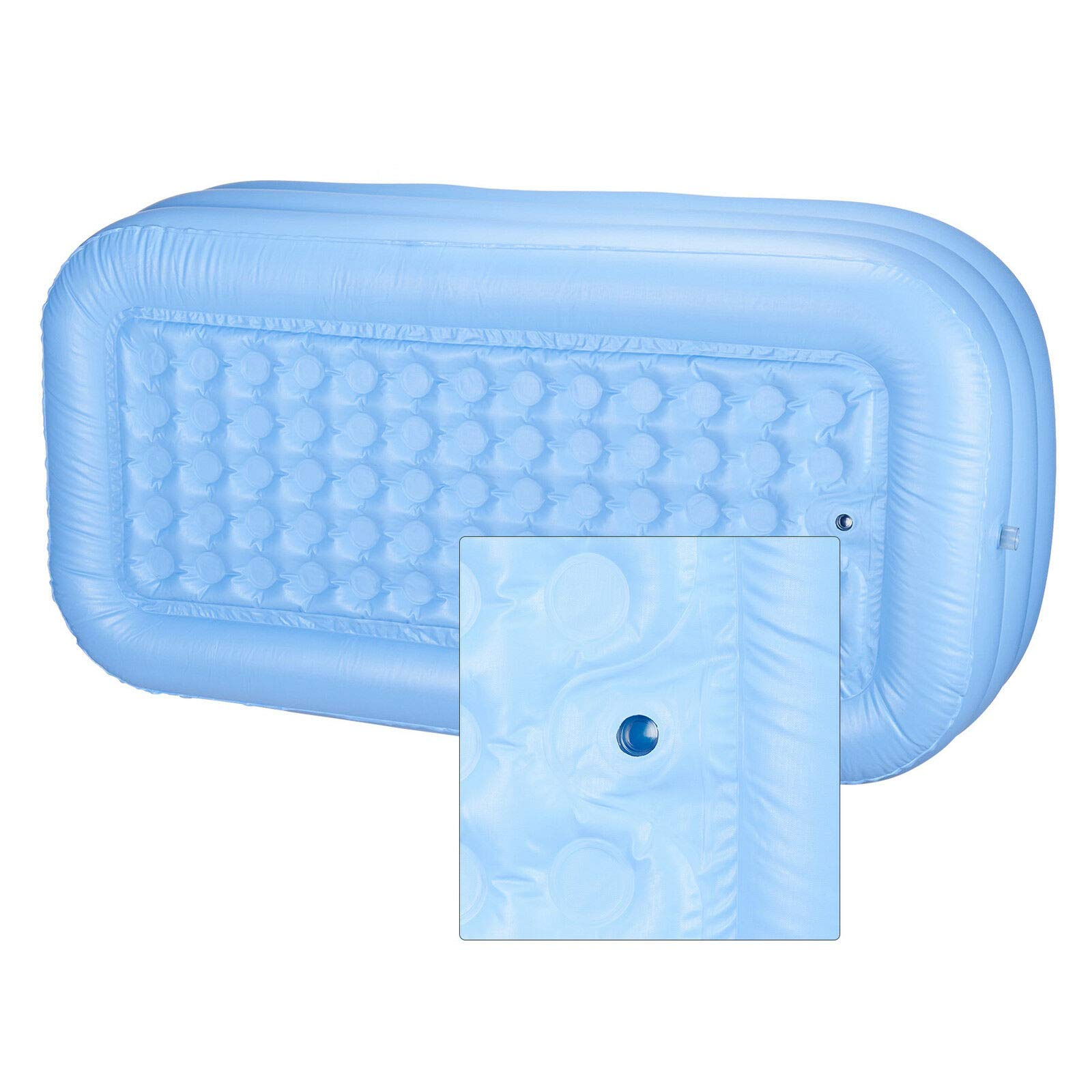 LZHQT Blow Up Adult PVC Folding Portable Foldable Bathtub Inflatable Bath Tub Air Pump by LZHQT (Image #3)