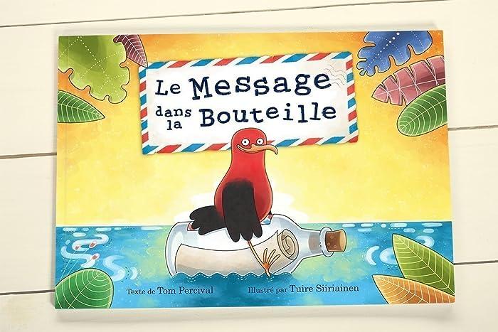 Livre Personnalise Pour Enfants Le Message Dans La Bouteille