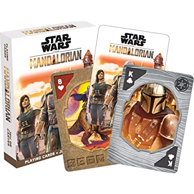 Aquarius Star Wars Mandalorian Playing Cards, Multicolor: Toys & Games