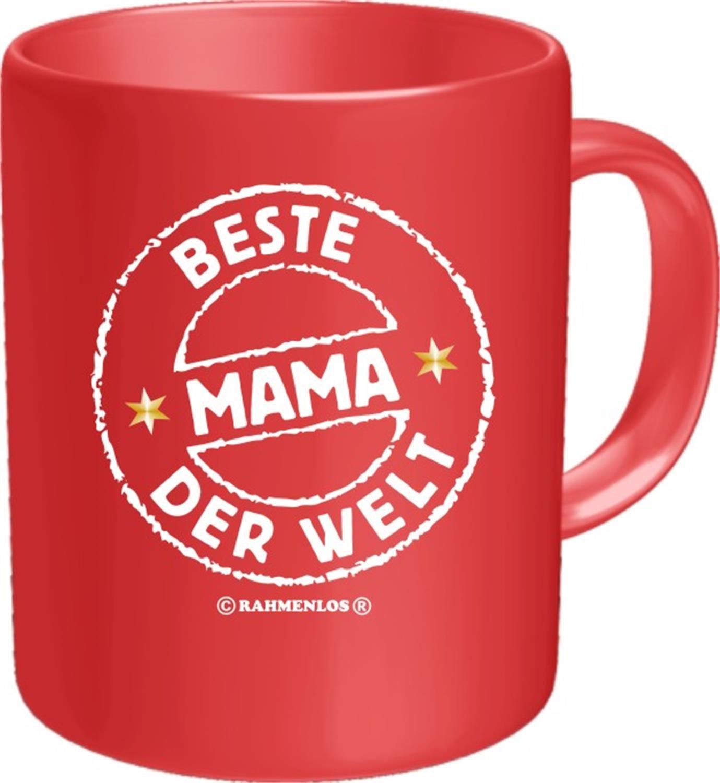 Fun Tasse mit Spruch - BESTE MAMA DER WELT: Amazon.de: Küche & Haushalt