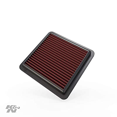 K&N Engine Air Filter: High Performance, Premium, Washable, Replacement Filter: 2008-2020 Honda (Civic X, Jazz, Fit, City), 33-2422: Automotive