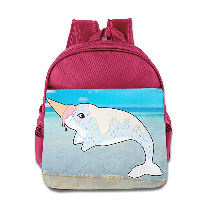 964d12a4c6df Unicorn Cute Children s School Backpacks For 1-3 Years Old (2 Colors) Pink