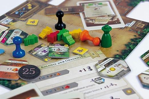 Lookout Games 22160087 – La kolonisten, iniciados Parte: Amazon.es: Juguetes y juegos