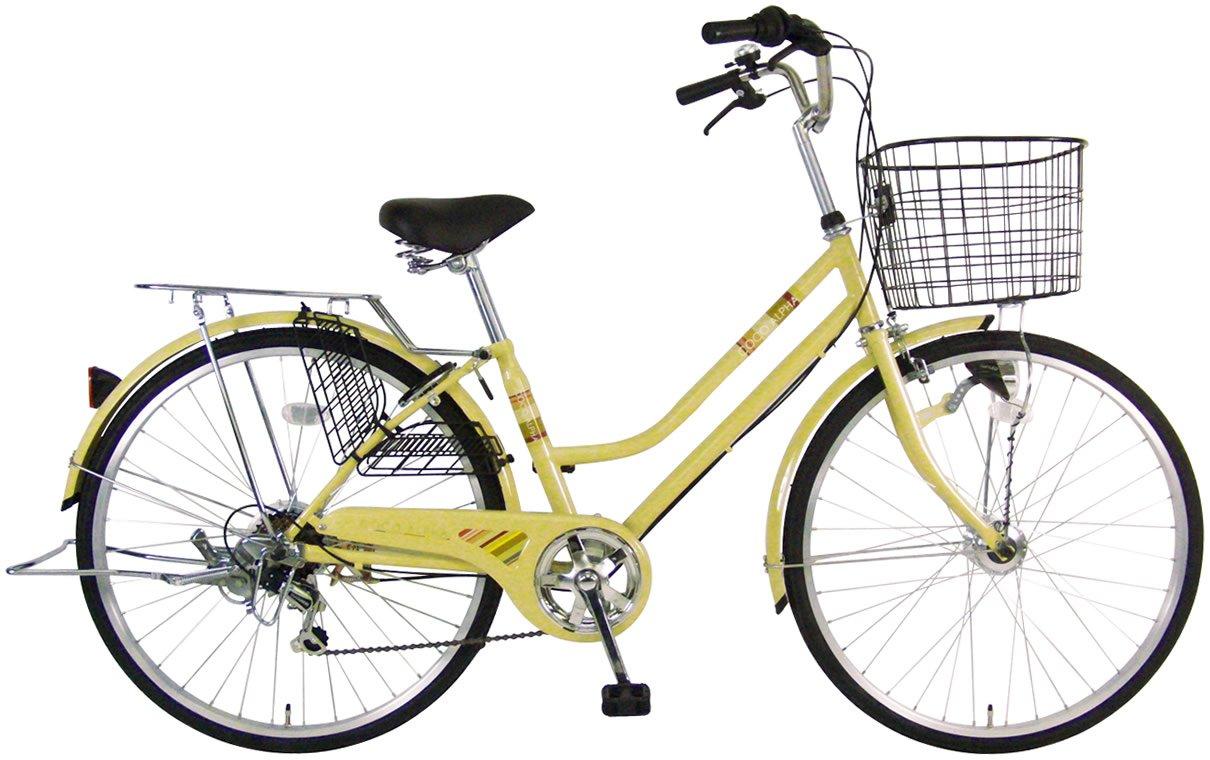 C.Dream(シードリーム) ココアルファ オートライト CA66-H 26インチ自転車 シティサイクル ベージュ 6段変速 100%組立済み発送 B071J4RZC3