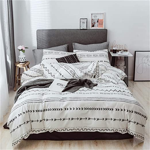 Amazon.com: Helehome Bohemian Duvet Cover Set 100% Cotton Bedding