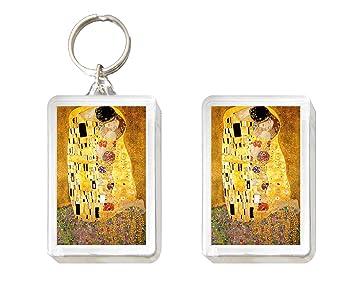 Llavero y Imán el beso de Klimt: Amazon.es: Juguetes y juegos