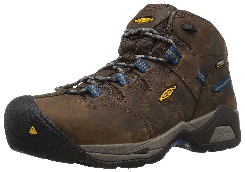 1d4445eb75e KEEN Utility Men's Detroit Xt Mid Steel Toe Waterproof Industrial Boot