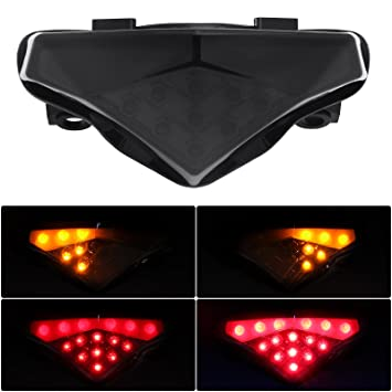 Amazon.com: Señales de Motocicleta LED intergrated Luz ...
