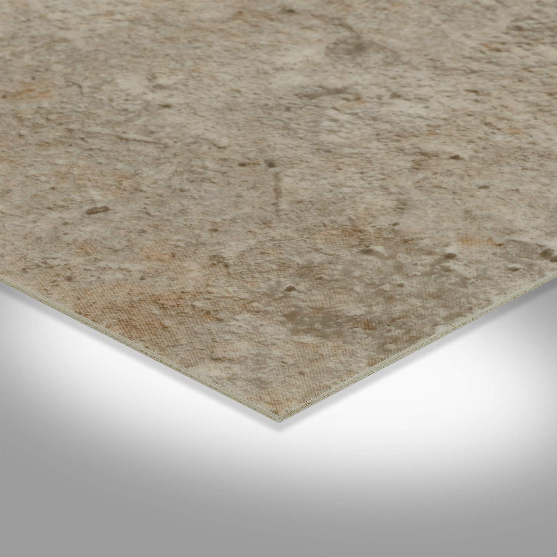 Steinoptik Betonoptik hell-grau BODENMEISTER BM70439 Vinylboden PVC Bodenbelag Meterware 200 300 400 cm breit