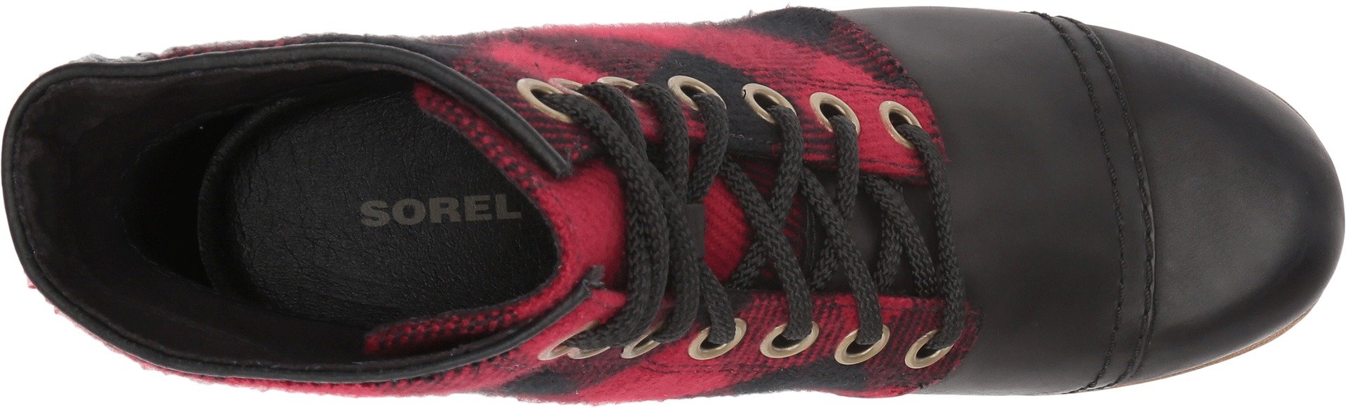 Sorel Women's PDX Wedge Booties, Black, 9.5 B(M) US by SOREL (Image #2)