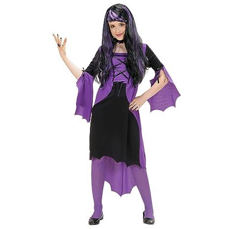 WIDMANN Widman - Disfraz de halloween vampira para niña, talla 6 ...