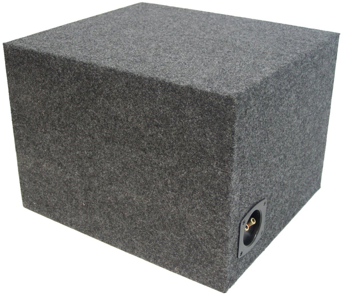 """Amazon.com: ASC Single 12"""" Subwoofer Kicker Square L3 L5 L7 Vented Port Sub  Box Speaker Enclosure: Car Electronics"""