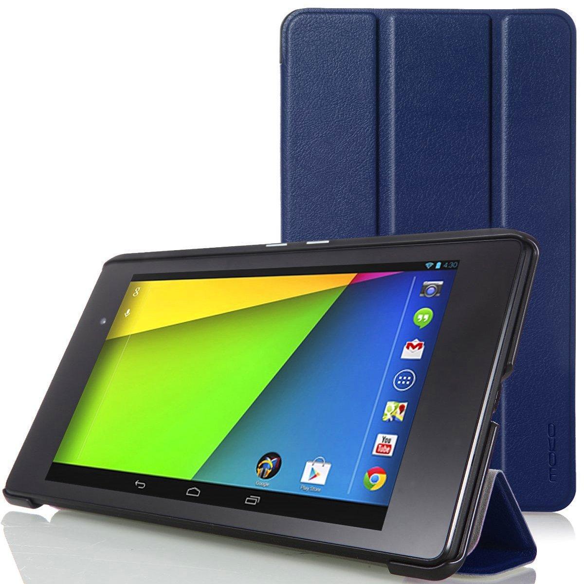 【国産】 MoKo Google New New Nexus 2013 7.0インチケース - Google MoKo B00E4OL3J0 Google New Nexus 2013 7.0インチタブレット専用開閉式三つ折薄型スタンドケース。INDIGO (オートスリープ機能付き) Nexus 7 2013 INDIGO B00E4OL3J0, アクセサリーFelice Japan:53668037 --- a0267596.xsph.ru
