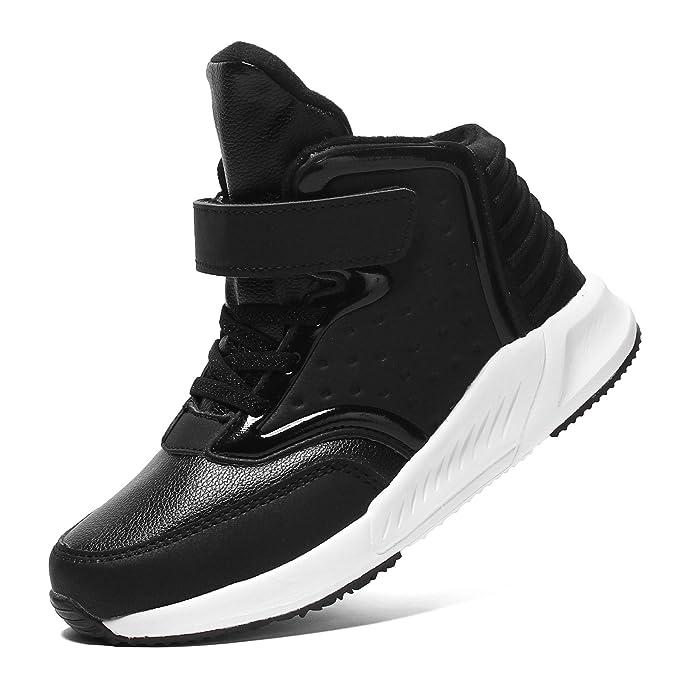 8d4c38d742811 Voovix Baskets Enfants Chaussures de Sport Sneakers Montantes pour Garçons  et Filles  Amazon.fr  Chaussures et Sacs