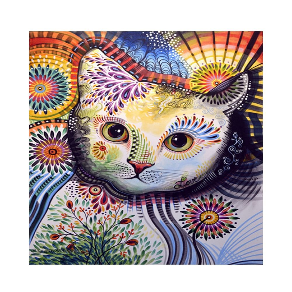 Martin Art Cats.png Poster For Home Or Office - feline wall decor