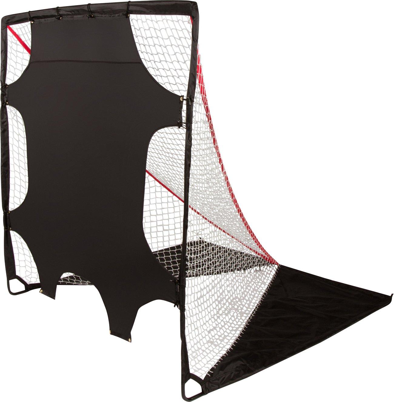 Trademark Innovations 7 Pocket Lacrosse Goal Target Shooter for Beginner-Intermediate Level