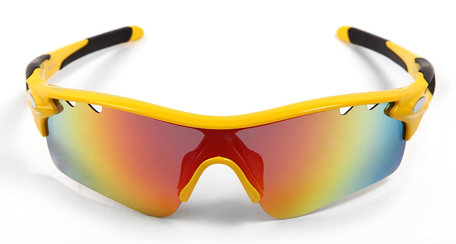 Hulislem Blade Sport Polarized Sunglasses -Case Color May Vary