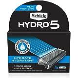 Schick Hydro 5 Sense Hydrate Mens Razor Refills, Pack of 4 Mens Razor Blade Refills