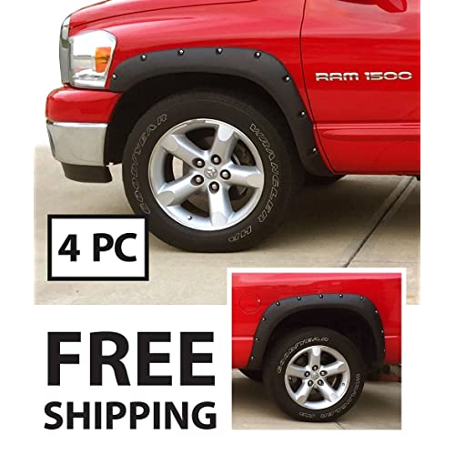 Cst 2003 2008 Dodge Ram 1500 Mega Cab 6 Lift 2wd: Dodge Ram Fender Flares: Amazon.com