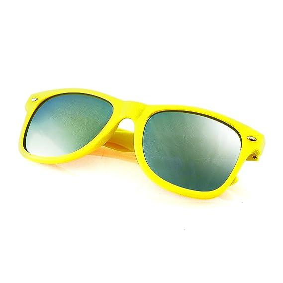 Emblem Eyewear® - Gafas De Sol De Moda Vintage Espejo Lentes Nuevos Hombres Mujeres Marco De Moda Retro Cool