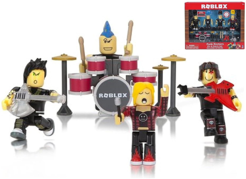 Buy Jazwares Roblox Punk Rockers Mix Match Set Includes 18
