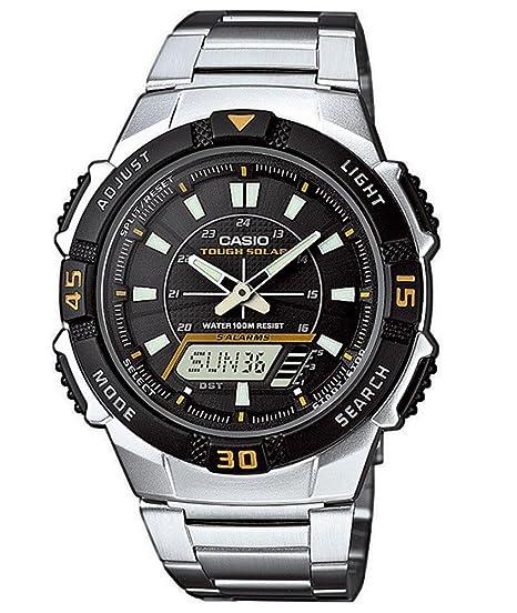 Casio AQ-S800WD-1EVEF Ana-Digi - Reloj Solar para Hombre (5 ...