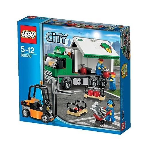 LEGO City - Aeropuerto: camión de transporte (60020): Amazon.es: Juguetes y juegos
