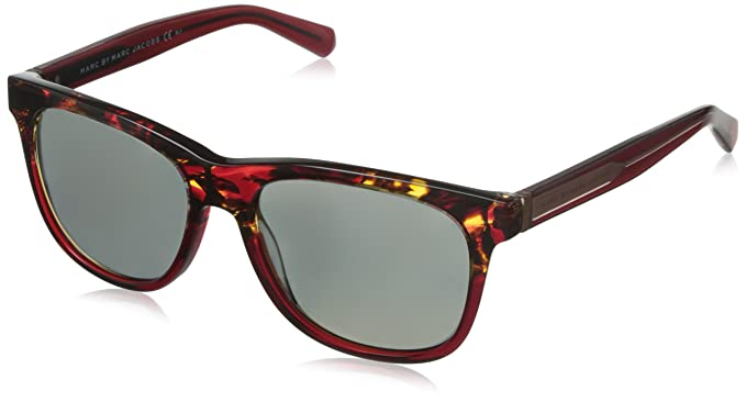 e5a7ebd3b1ea Marc By Marc Jacobs 360/N Red Tortoise / Red Frame/Grey, Rose Mirror Lens Plastic  Sunglasses: Amazon.co.uk: Clothing